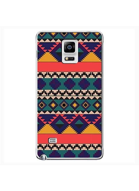 People's Cover Samsung Note 4 Kabartmalı Kapak Renkli